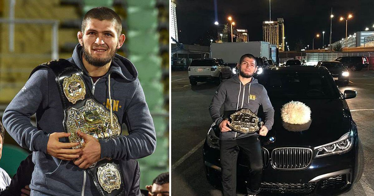 khabib.jpg?resize=300,169 - Khabib Nurmagomedov Says To Dana White, 'You Lucky That You Give My Belt, Or I Would Smash Your Car' In His Latest Instagram Post