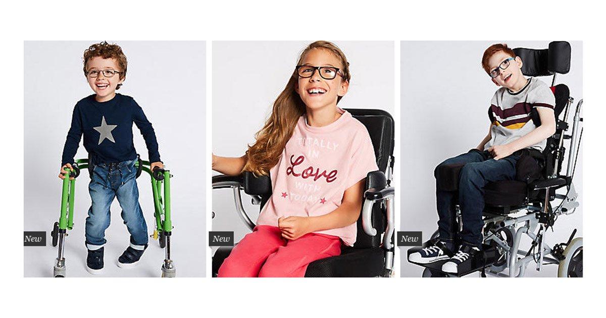 mainphoto ms.jpg?resize=636,358 - Marks & Spencer annonce sa première ligne de vêtements pensée pour les enfants handicapés.