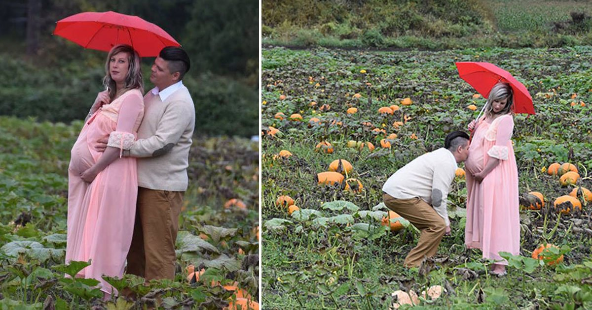 maternity shoot.jpg?resize=300,169 - Couple Went The Extra Mile For Their Maternity Photoshoot That Will Leave You Horrified