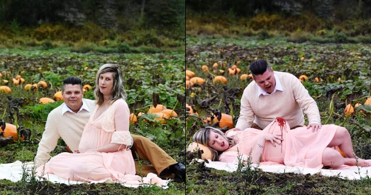 maternity8.png?resize=1200,630 - Expectant Mother Gives Birth To An ALIEN In A Bizarre Maternity Photoshoot