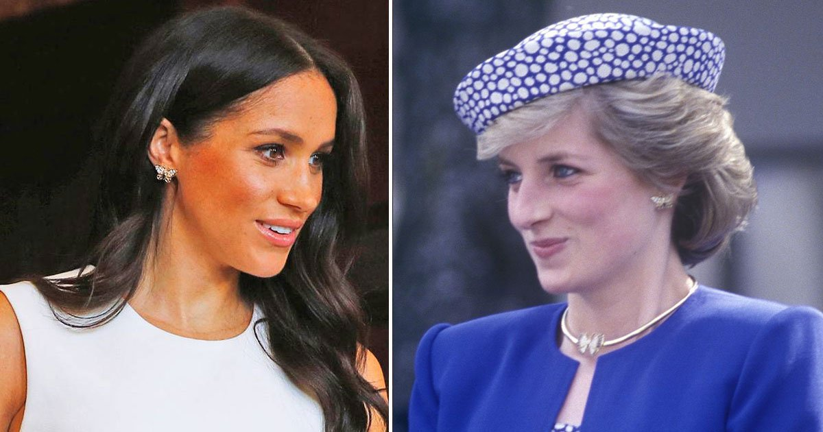 meghan diana.jpg?resize=412,232 - The Duchess of Sussex Pays A Tribute To Her Late Mother-In-Law Princess Diana During Her Royal Tour To Sydney