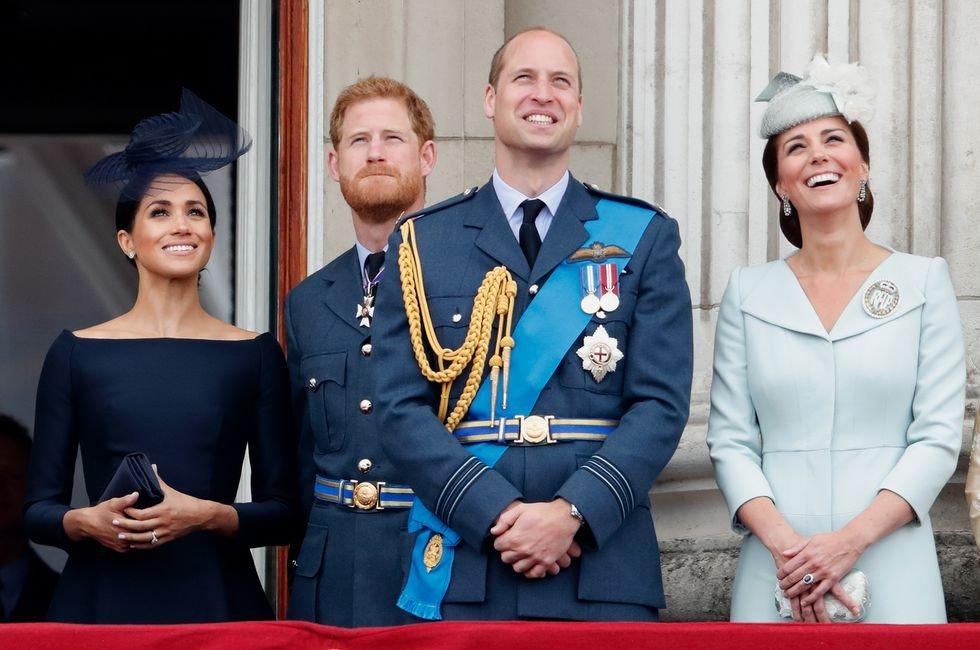meghan duchess of sussex prince harry duke of sussex prince news photo 997307990 1539605954.jpg?resize=636,358 - Saiba qual foi a reação de príncipe William e Kate Middleton ao saberem da gravidez de Meghan Markle