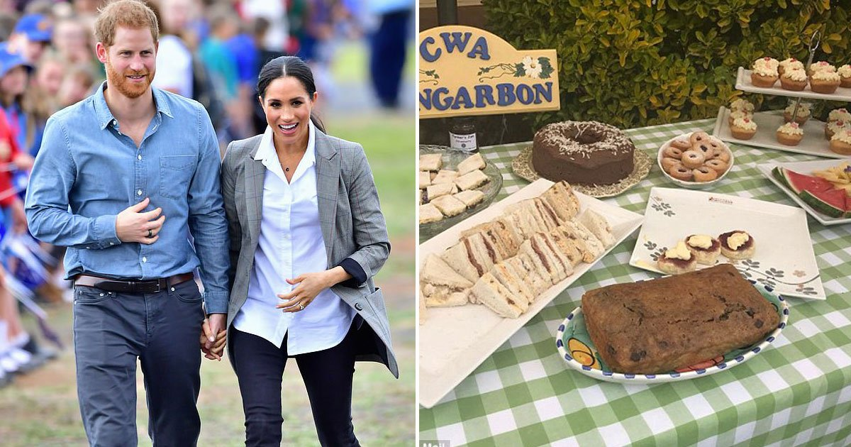 meghan harry picnic.jpg?resize=636,358 - Meghan Markle Prepares A Loaf Of Banana Bread For A Family Of Farmers As They Invited Her And Harry For A Picnic-Style Lunch