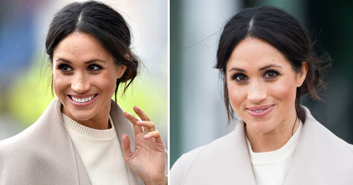 meghan markle 5.jpg?resize=412,232 - Meghan Markle Choosing Carefully-Planned Outfits To Hide Her Baby Bump