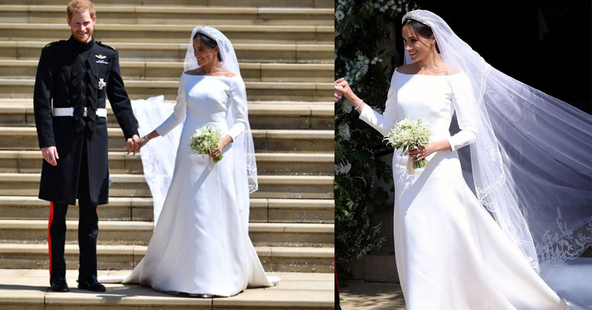 meghan markle reveals how she surprised prince harry as she kept her veil featuring flowers from 53 commonwealth nations.jpg?resize=1200,630 - Meghan Markle Reveals Prince Harry Was 'Over the Moon' As She Kept Her Veil Featuring Flowers From 53 Commonwealth Nations