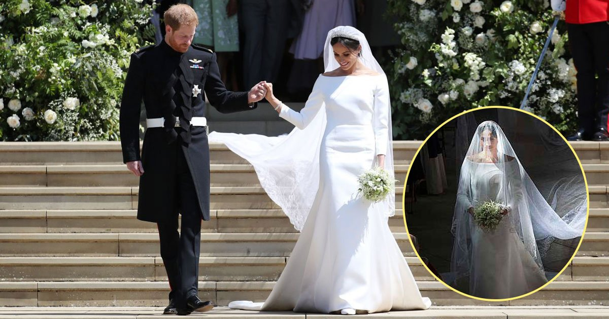 meghan walk aisle.jpg?resize=636,358 - Meghan Markle Walking Down The Aisle At St George's Chapel Voted The Best Royal Snap Of The Year