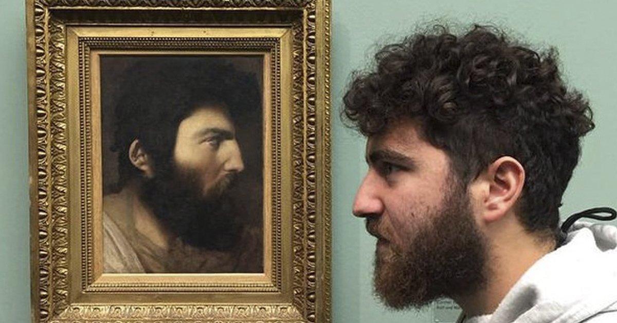 museos.jpg?resize=636,358 - 15 Sorprendentes coincidencias entre los visitantes de los museos y las exhibiciones de los mismos