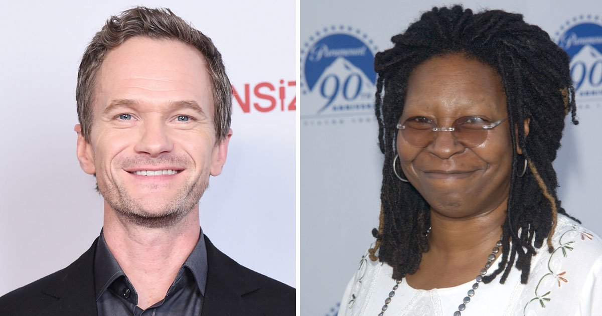 neil whoopi.jpg?resize=1200,630 - Neil Patrick Harris Revealed What Whoopi Goldberg Said To Him Decades Ago - And The Audience Was Left Stunned