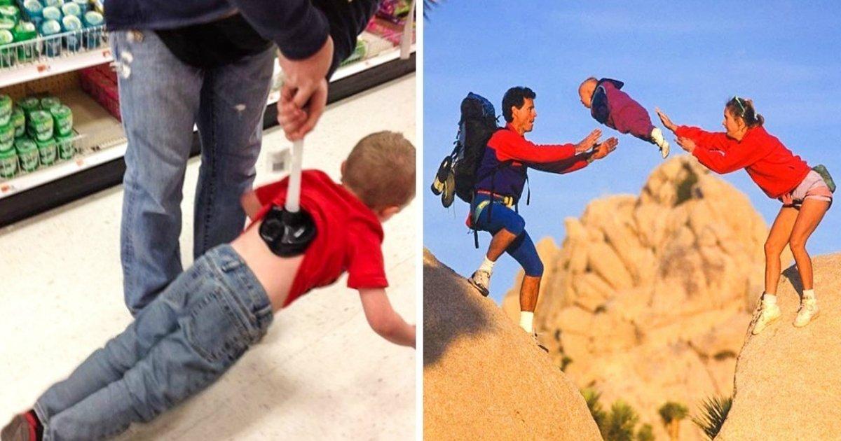 nem todos.jpg?resize=412,275 - 25 Fotos que mostram como nem todo mundo está preparado para criar um filho