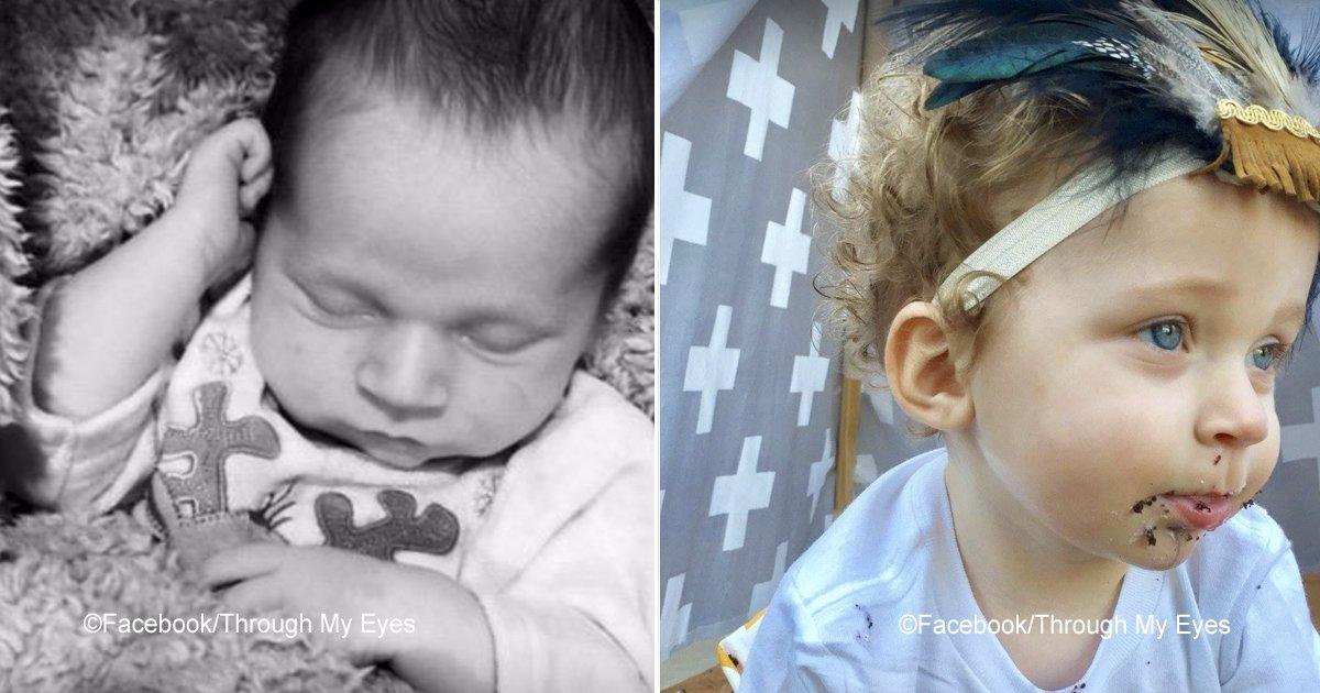 nino.jpg?resize=300,169 - Bebé fue abandonado al nacer en un basurero, pero ahora tiene unos padres adoptivos que lo han llenado de amor