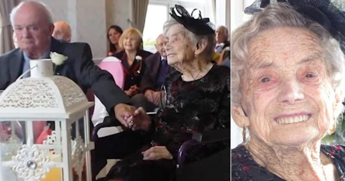 norah6.jpg?resize=1200,630 - 100-Year-Old Woman Marries 'Toyboy Lover' Who Is 26 Years Younger Than Her