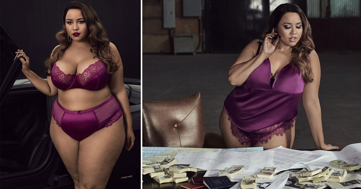 """opi.jpg?resize=412,232 - La blogueuse mode, Gabi Gregg, a lancé une nouvelle collection de lingerie et de maillots de bain grande taille baptisée """"Premme"""""""