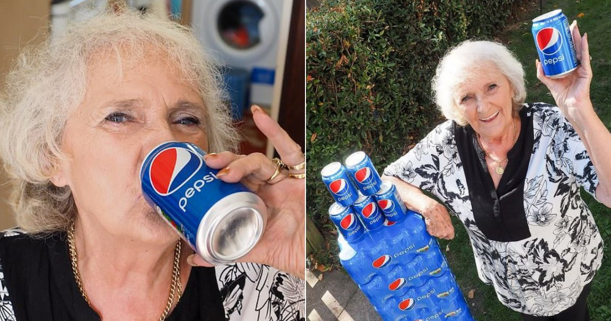 pepsi7.png?resize=412,232 - 77-Year-Old Great Gran Has Drunk Nothing But FOUR Cans Of Pepsi A Day For 64 Years