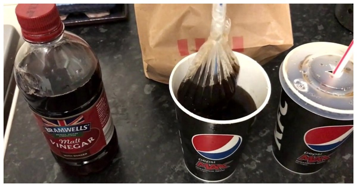 prank 1.jpg?resize=636,358 - Man Pranks His Unsuspecting Girlfriend By Spiking Her Pepsi With Vinegar – Her Reaction Says It All