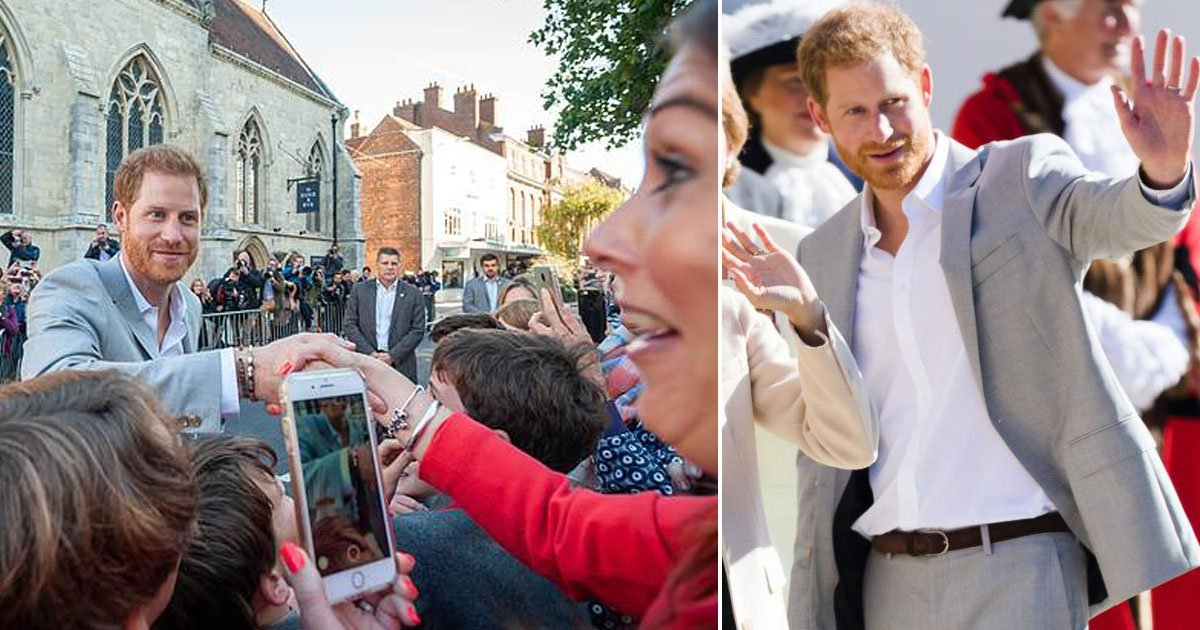 prince harry.jpg?resize=636,358 - 'Um, Please Let Go', Says Prince Harry To A French Teacher Who Refuses To Stop Shaking His Hand