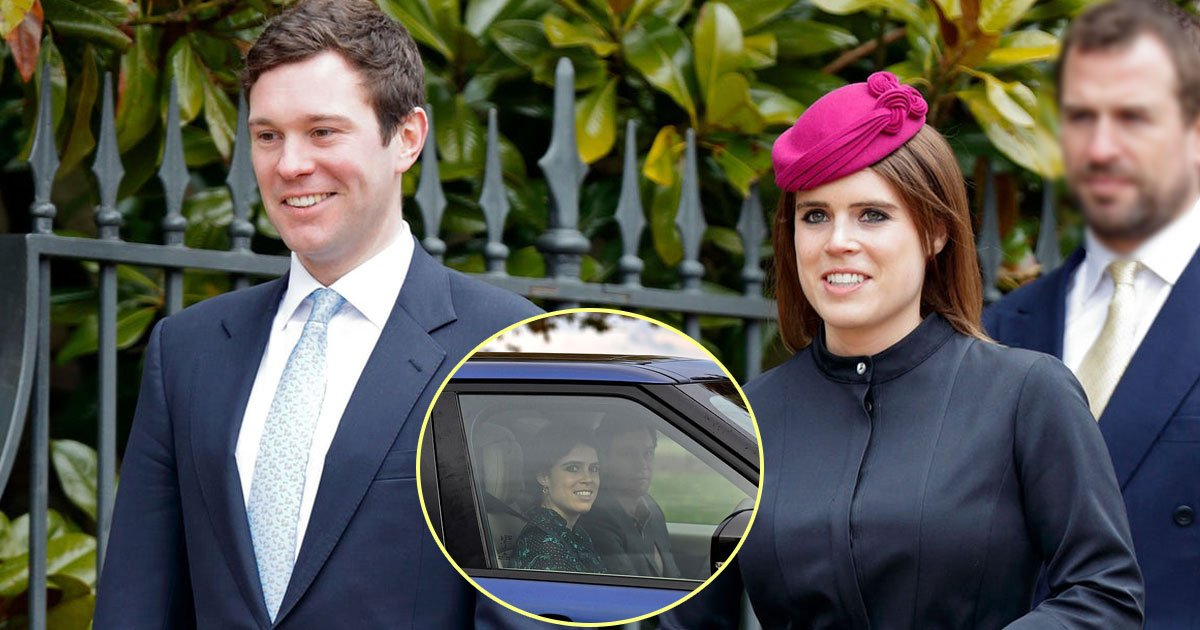 princess eugenie and jack brooksbank.jpg?resize=636,358 - Princess Eugenie And Jack Brooksbank Leave Windsor Castle After Final Rehearsal For Their Royal Wedding At The Same Venue