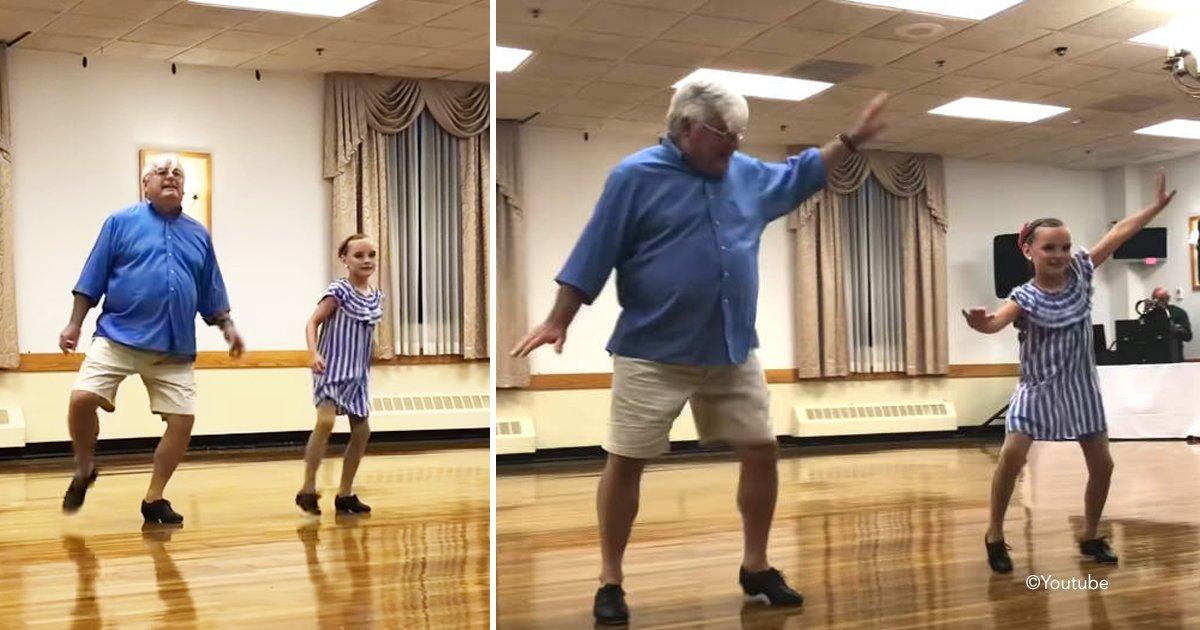 sada.jpg?resize=300,169 - Esta niña le pide a su abuelo que baile tap con ella para su recital dejando a la audiencia a sus pies