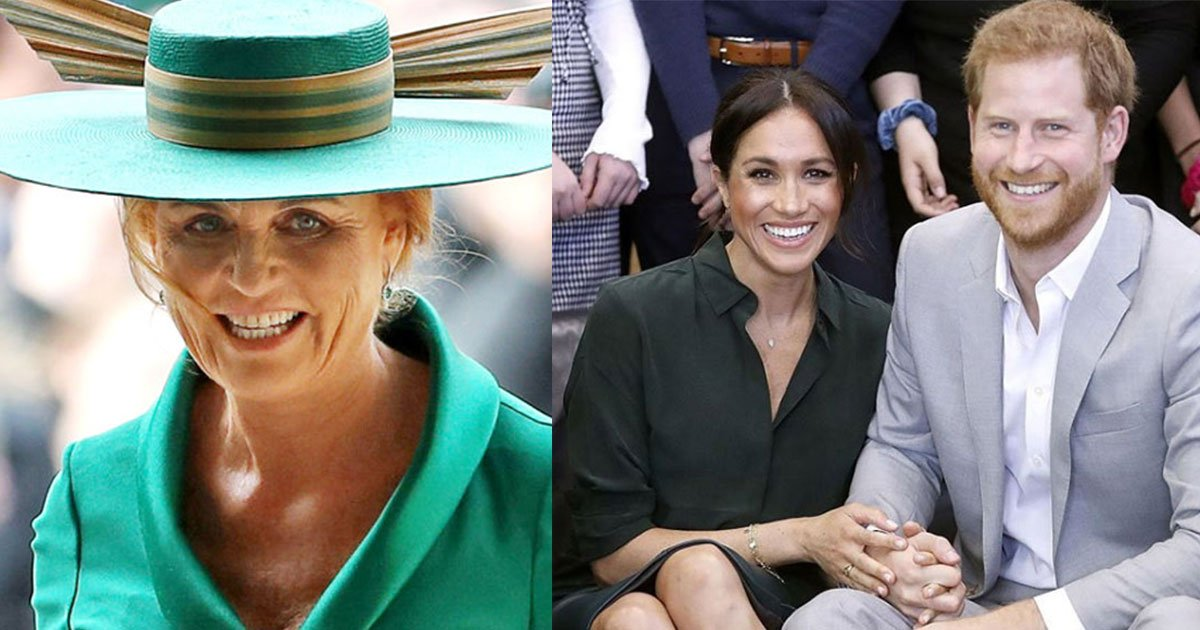 sarah ferguson posted several pictures from daughters big day but didnt react on meghans pregnancy news posted by kensington palace.jpg?resize=732,290 - Sarah Ferguson Posted Several Pictures From Daughter's Big Day But Didn't React To Meghan's Pregnancy News