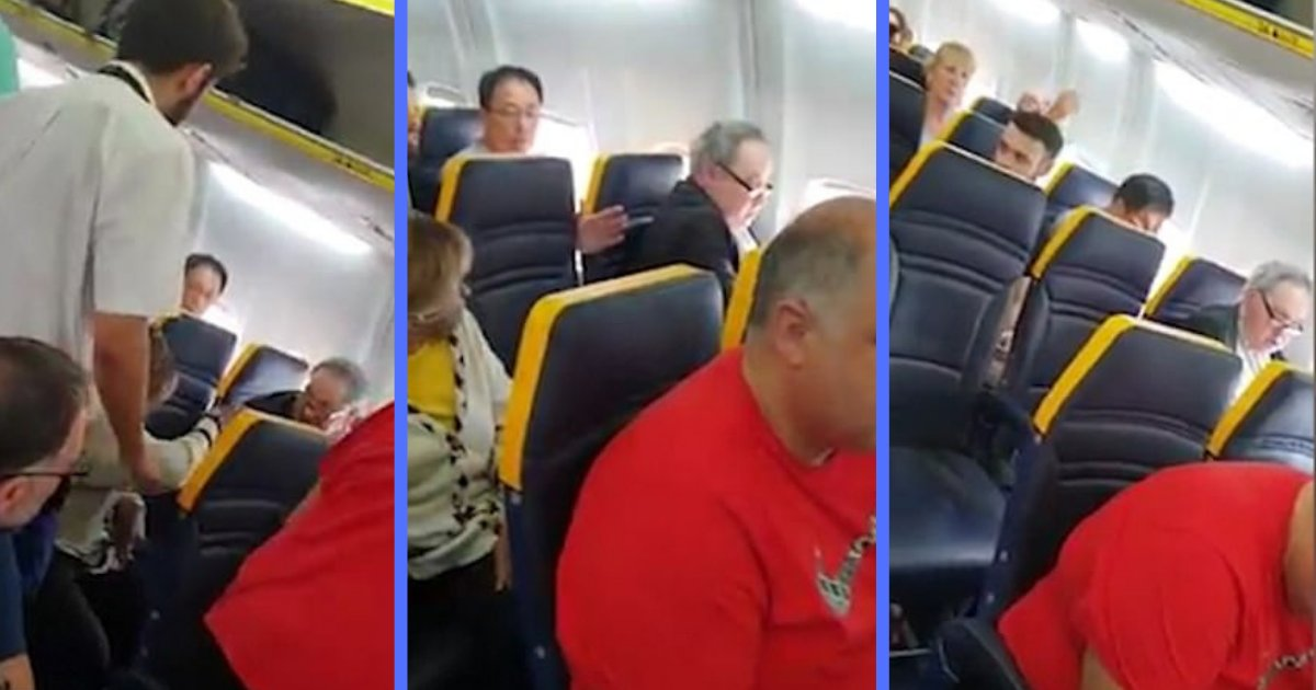 shivam2 10.png?resize=636,358 - Ryanair Under Scrutiny for Not Kicking Passenger OFF Flight after Racist Rant at Elderly Woman