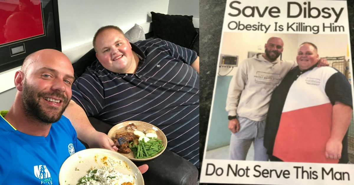 shivam4 3.png?resize=636,358 - Personal Trainer Has Overweight Client BANNED From Favorite Restaurants with 'Do Not Serve' Posters
