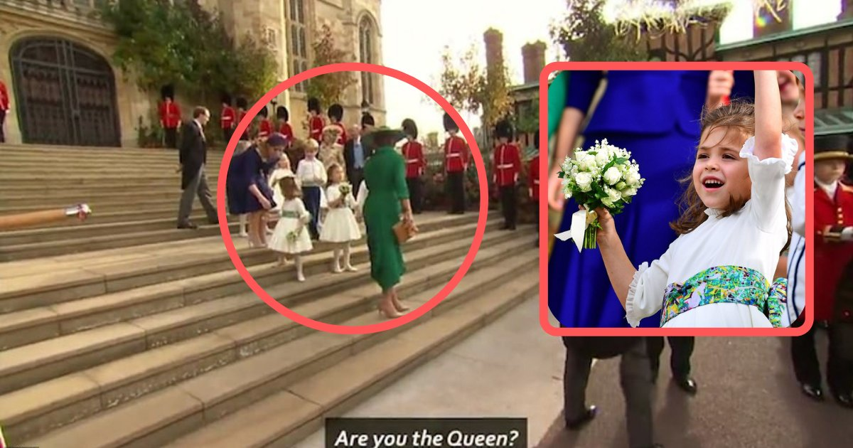 shivam4 4.png?resize=636,358 - Robert Williams' Daughter Cheekily Asks The Duchess of York if She's the Queen