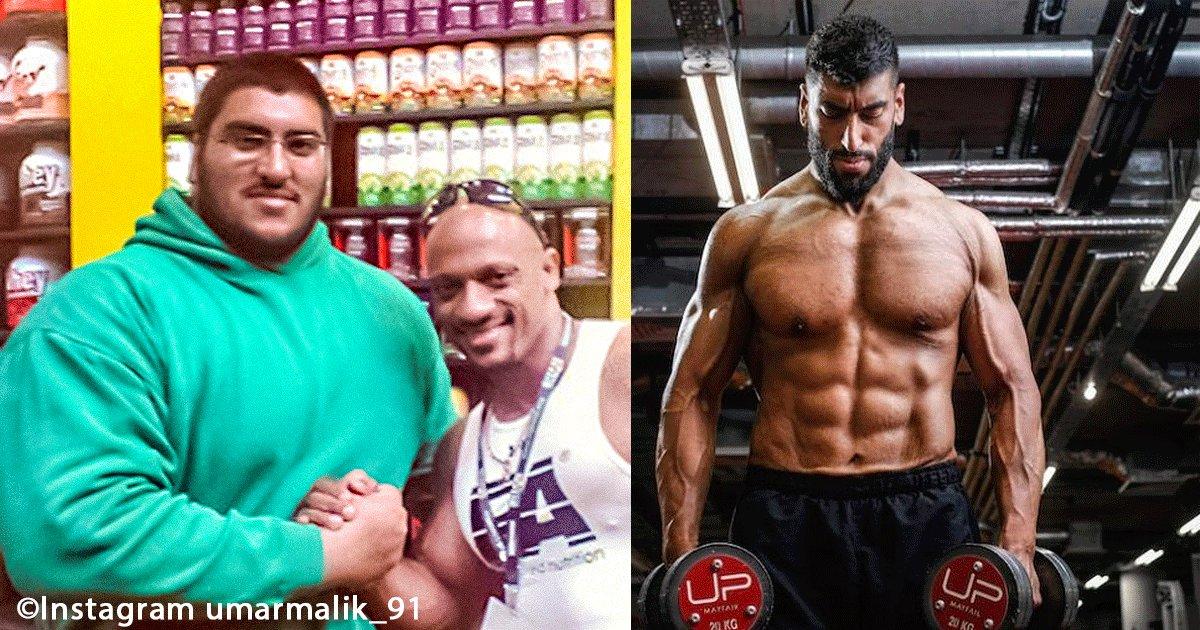 sin titulo 1 10.png?resize=300,169 - Debido a su sobrepeso este hombre rompió el piso, desde ese momento decidió cambiar su forma de vida