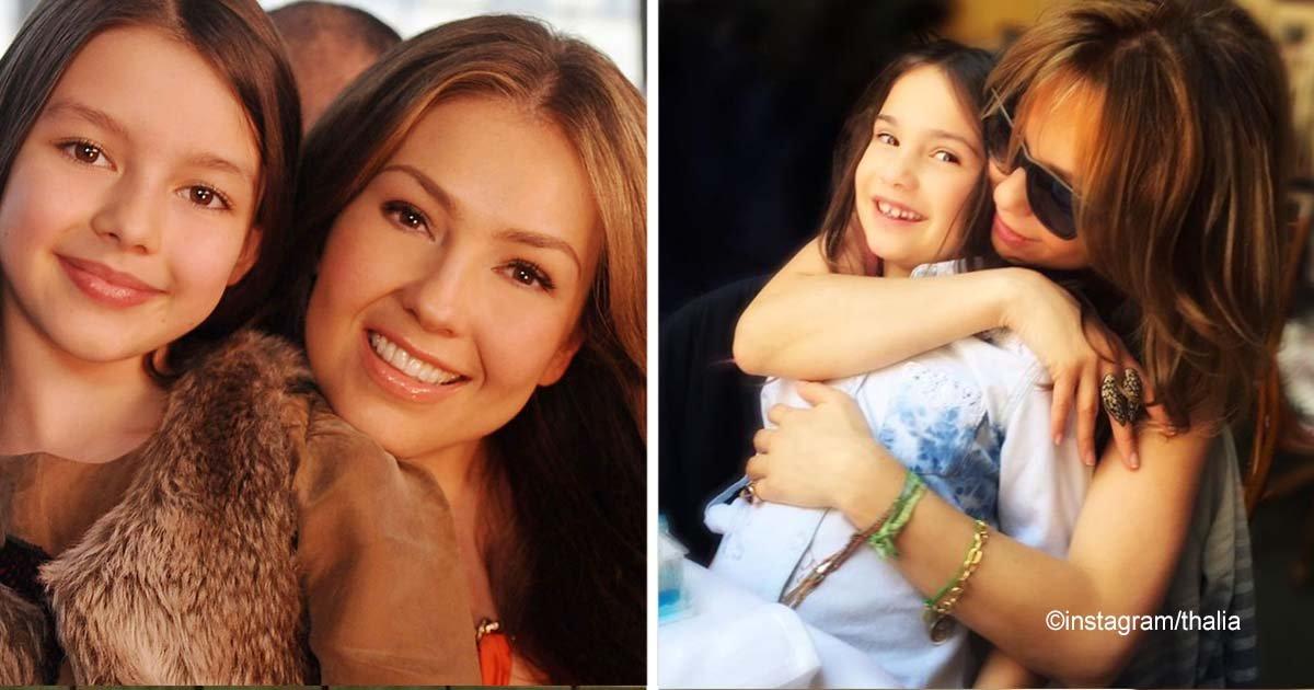 sin titulo 1 19.jpg?resize=300,169 - Thalía felicitó muy tiernamente a su hija por cumplir 11 años, el parecido entre las dos es impresionante