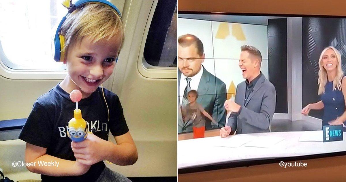 sin titulo 1 2.jpg?resize=300,169 - Un niño de 6 años aparece en noticiero en vivo y genera caos por una tierna razón