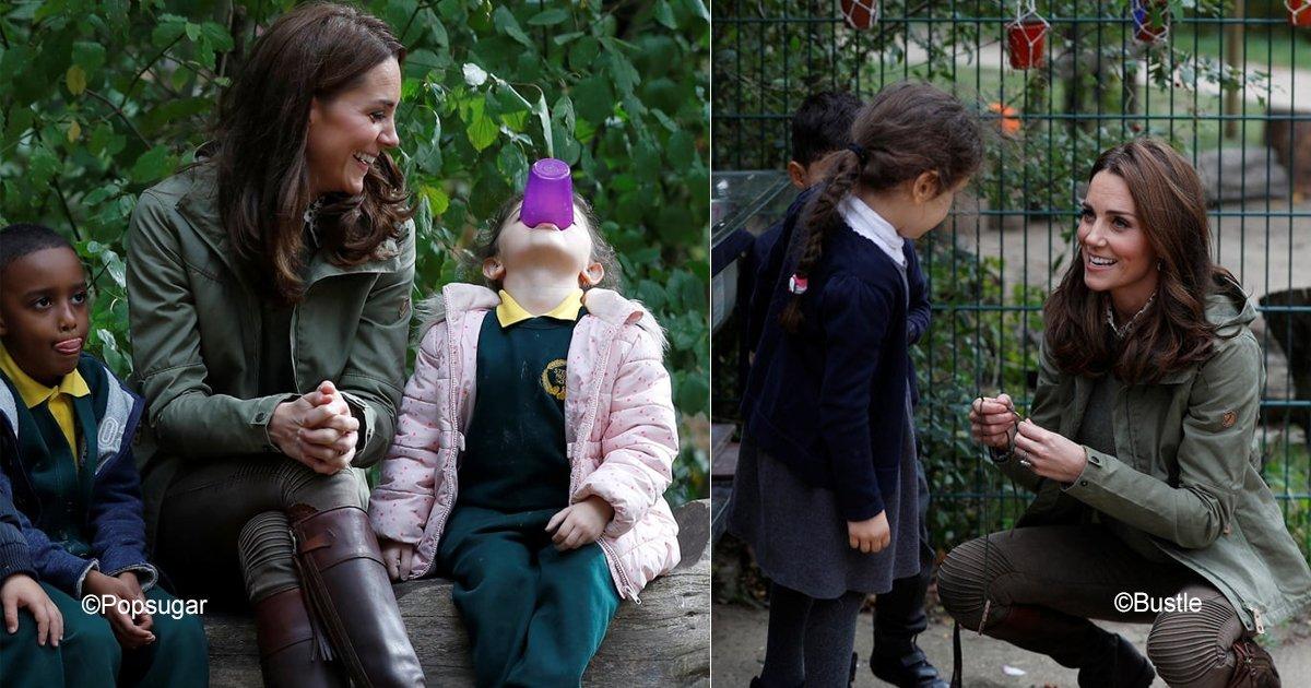 sin titulo 1 21.jpg?resize=1200,630 - Una pequeña le preguntó a Kate Middleton porque le tomaban tantas fotografías, su respuesta fue de lo más conmovedora