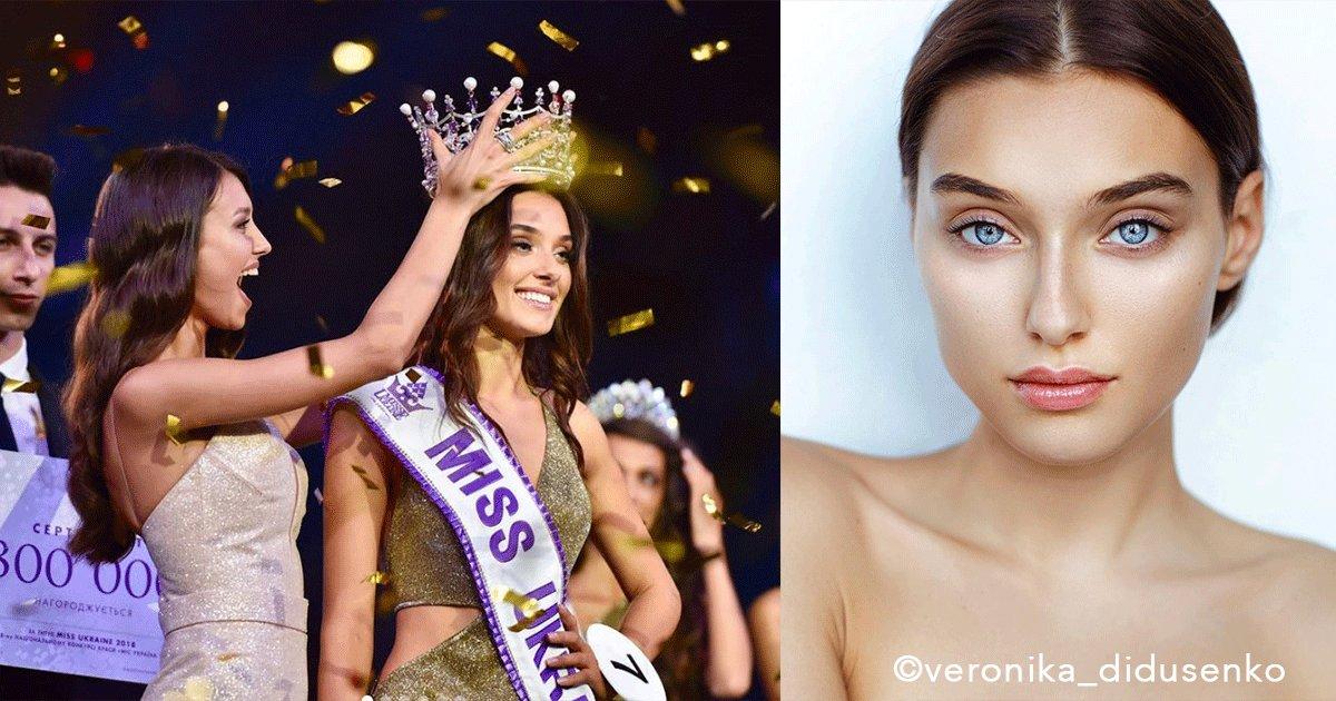 sin titulo 1 22.png?resize=300,169 - Indignación total: por haber estado casada y ser madre soltera le quitaron la corona a la reina de belleza de Ucrania