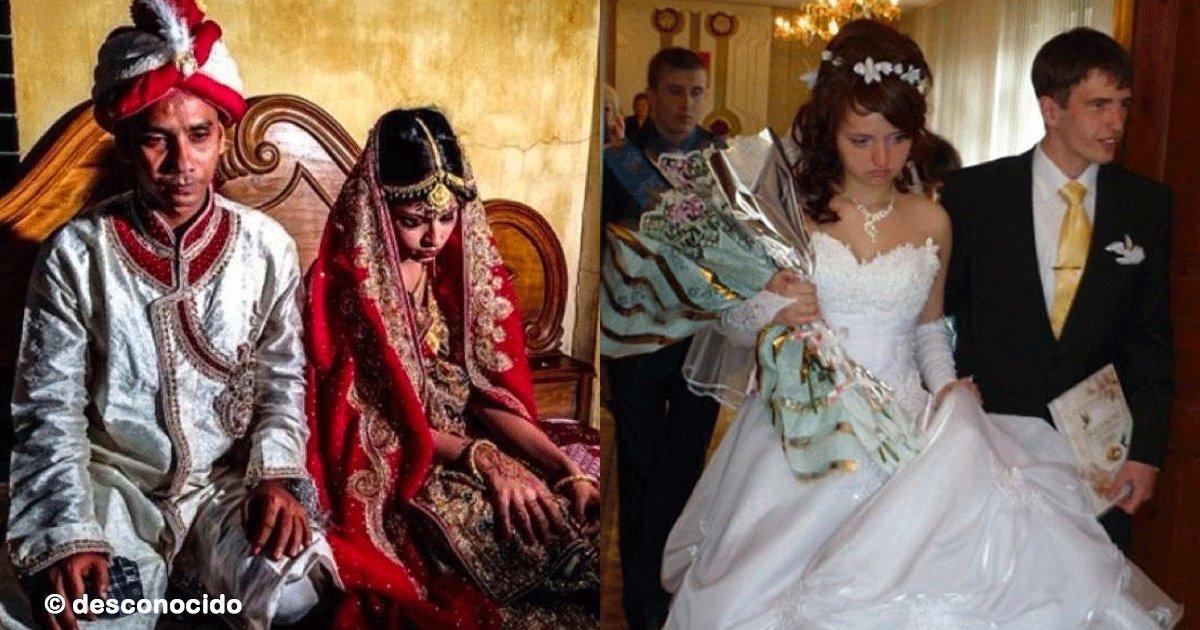 sin titulo 1 36.png?resize=412,232 - Algunas de estas 8 novias reflejaban inmensa tristeza al ser obligadas a casarse en matrimonios arreglados