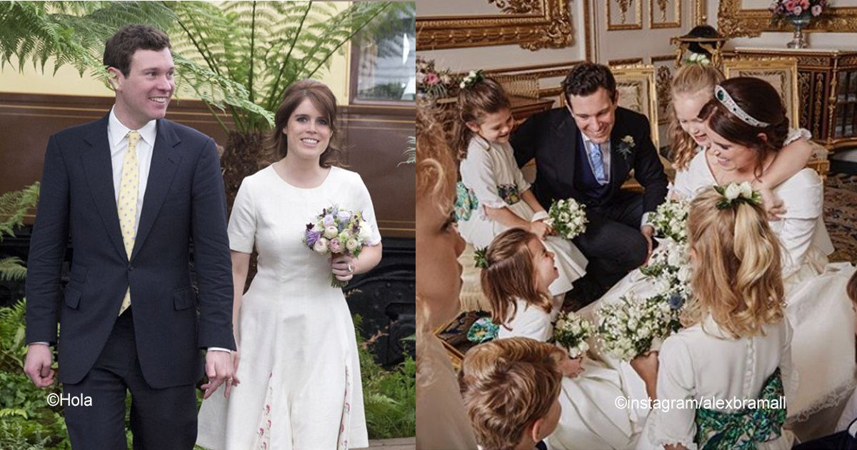 sin titulo 1 44.jpg?resize=412,232 - La Casa Real publicó imágenes oficiales de la boda de Jack Brooksbank y la princesa Eugenia