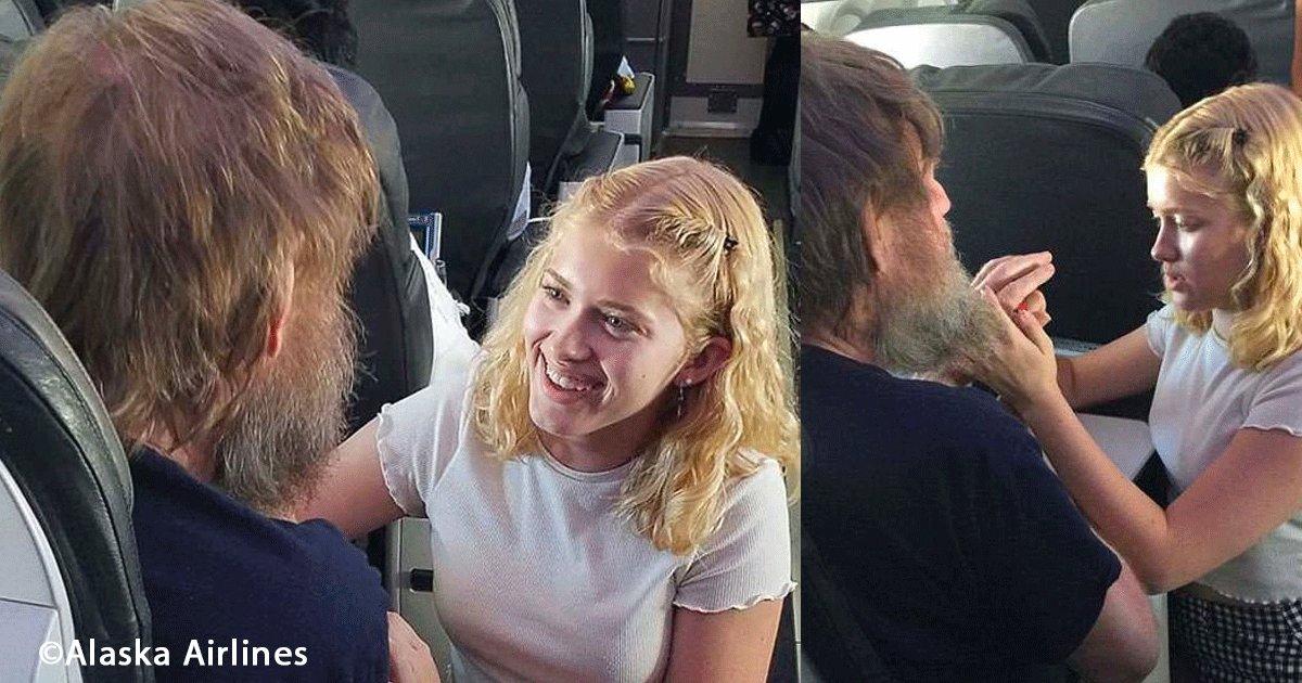 sin titulo 1 9.png?resize=300,169 - Una chica fue el ángel guardián de un hombre ciego y sordo ayudándolo en un vuelo, todo mundo la admira
