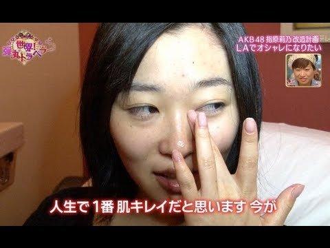 「指原莉乃 すっぴん」の画像検索結果