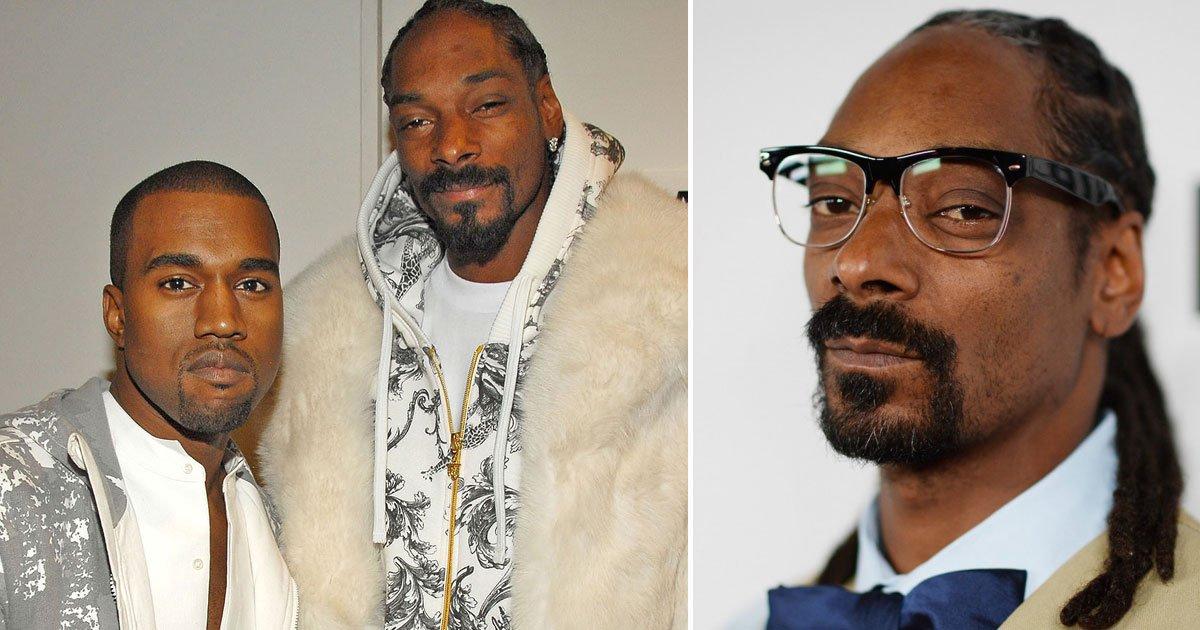snoop dogg kanye west.jpg?resize=1200,630 - Snoop Dogg's Brutal Message For Kanye West For Wearing MAGA Hat