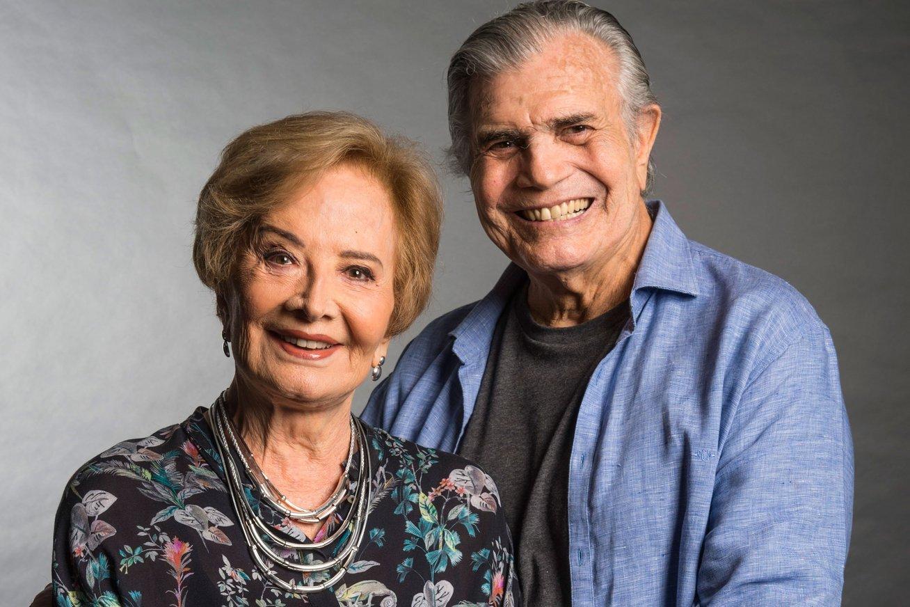 tarcisio meira gloria menezes.jpg?resize=1200,630 - Glória Menezes parabeniza Tarcísio Meira com LINDA mensagem em seu aniversário de 83 anos