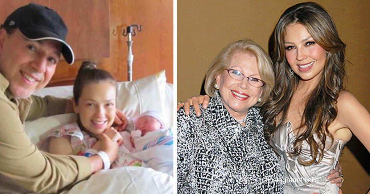 tha.jpg?resize=300,169 - Thalía celebró el cumpleaños de su difunta madre de una manera conmovedora