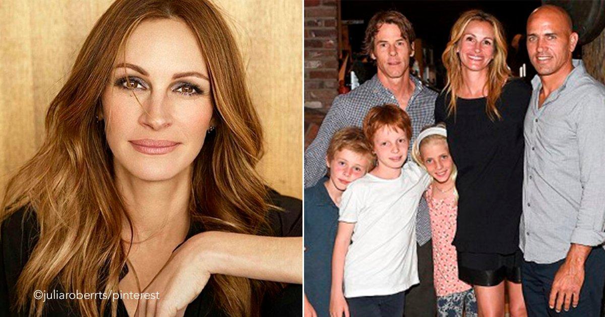 uj.png?resize=366,290 - Julia Roberts ha mantenido alejados a sus hijos de los reflectores, ellos no saben que su madre es famosa