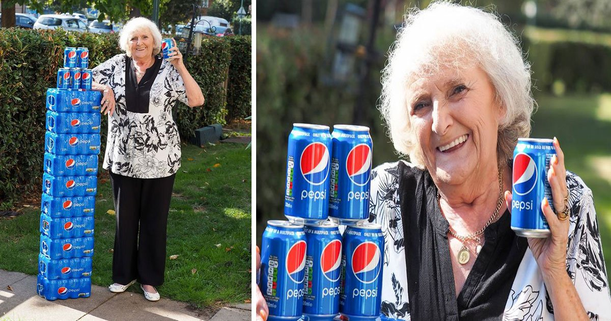 untitled 1 111.jpg?resize=412,232 - Elderly Woman Has Been Drinking Nothing But Pepsi For Over 60 Years