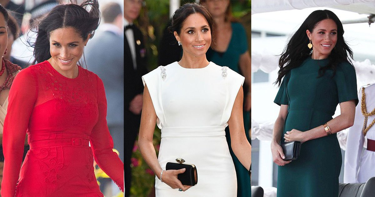 untitled 1 113.jpg?resize=636,358 - Meghan Dazzles In Three Different Outfits In One Day At Royal Tour