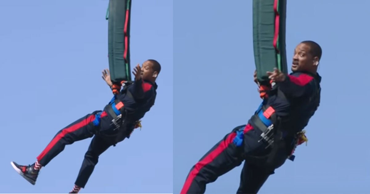 untitled 1 7.jpg?resize=636,358 - Will Smith Celebrated His 50th Birthday By Bungee Jumping Out Of A Helicopter