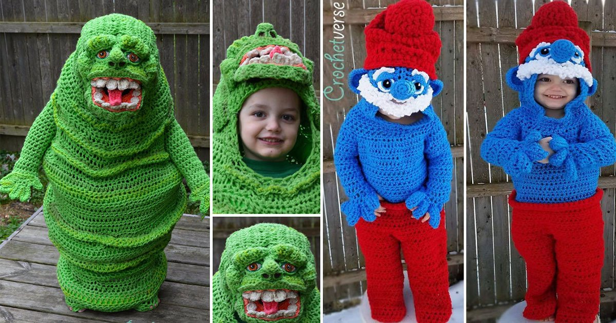 untitled 1 91.jpg?resize=412,232 - A Mother Prepares Crochet Costumes For Her Kids On Halloween Every Year