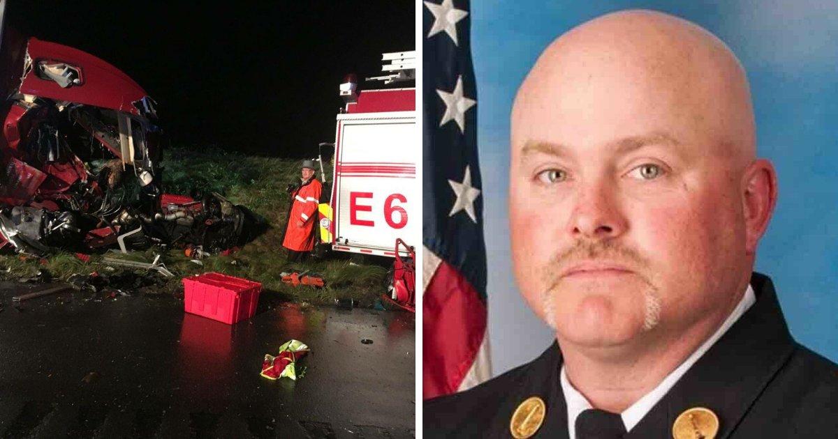 untitled design 21 1.png?resize=412,232 - Un pompier meurt dans un accident tragique; ses dernières paroles brisent le cœur de la famille et des amis
