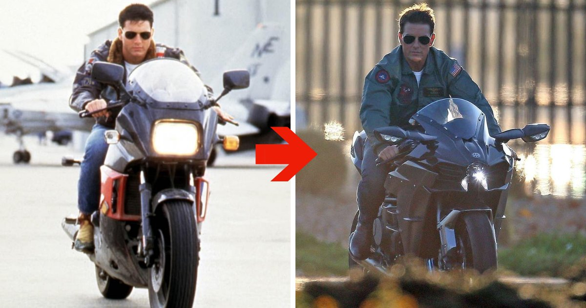 untitled design 21.png?resize=1200,630 - 56-Year-Old Tom Cruise Proves He Hasn't Aged As He Returns As Maverick In Top Gun Sequel