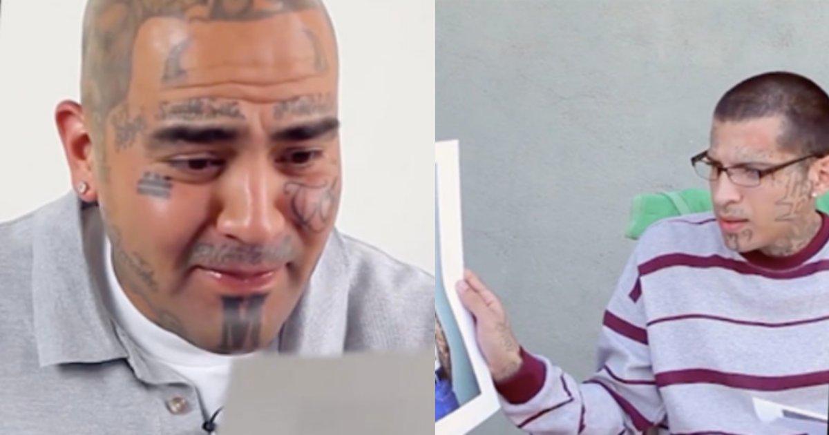 untitled design 24.png?resize=1200,630 - Des anciens membres de gangs voient des photos d'eux-mêmes sans tatouages pour la première fois et voici leurs réactions