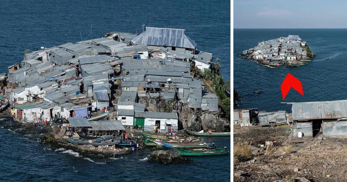 untitled design 28 1.png?resize=1200,630 - Des centaines de personnes vivent dans des cabanes en tôle sur cette petite île au bord du lac Victoria