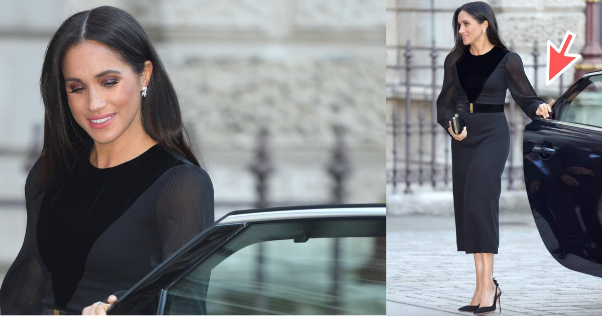 untitled design 4.png?resize=300,169 - The Duchess of Sussex - Meghan Markle, Closes Car Door, Internet Goes Bananas