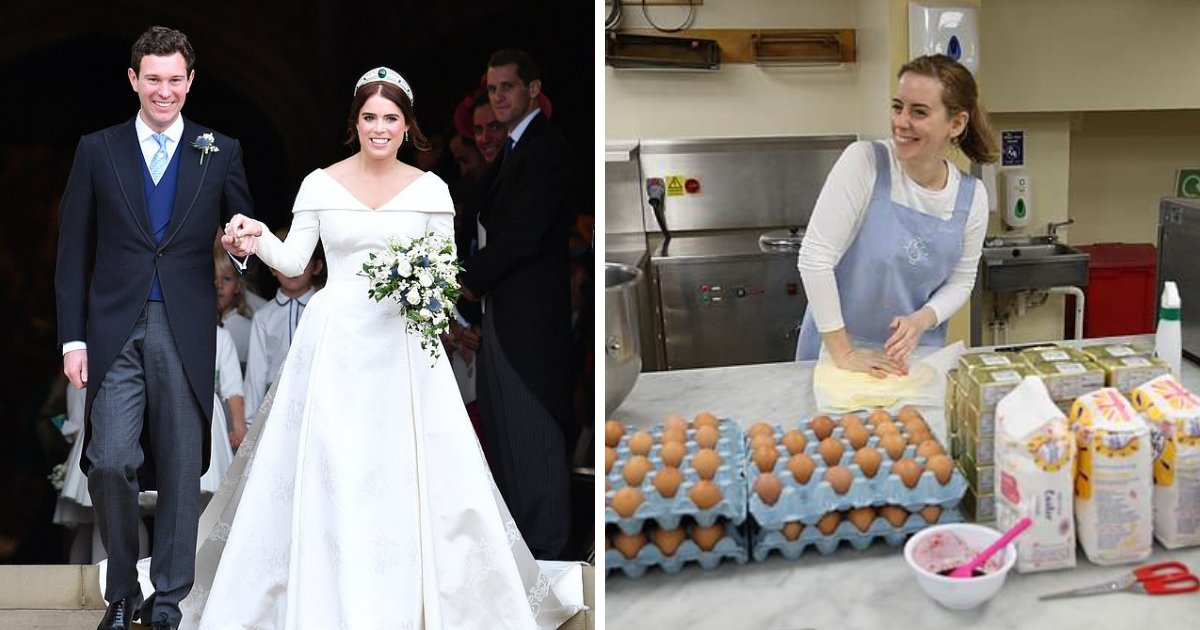 untitled design 48.png?resize=412,232 - Royal Wedding: Princess Eugenie Shows Off Her Stunning Five-Tier Royal Cake