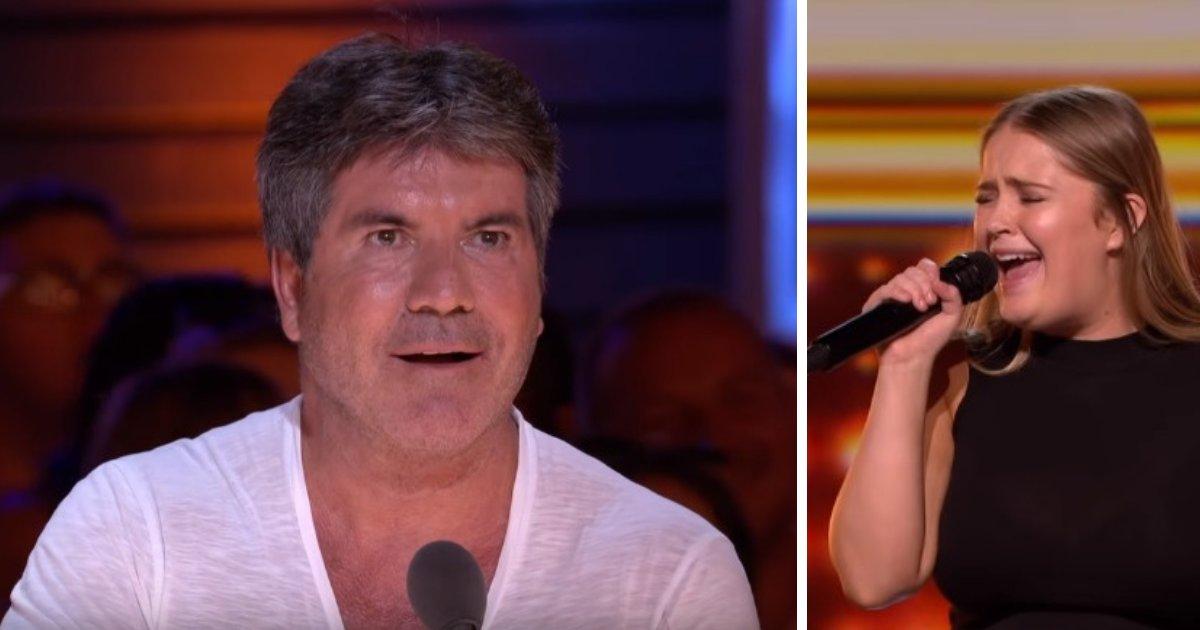 untitled design 5 1.png?resize=1200,630 - Simon Cowell se quedó boquiabierto cuando la chica de 20 años comenzó a cantar en el escenario de X Factor
