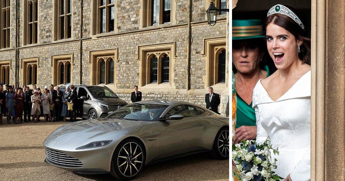 untitled design 50.png?resize=412,232 - Newlywed Princess Eugenie And Jack Make Their Getaway In Lavish Aston Martin DB10